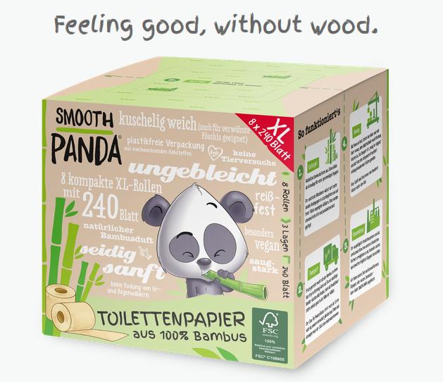 Geschäftsidee Bambus Klopapier ohne Verpackung im Abo verkaufen