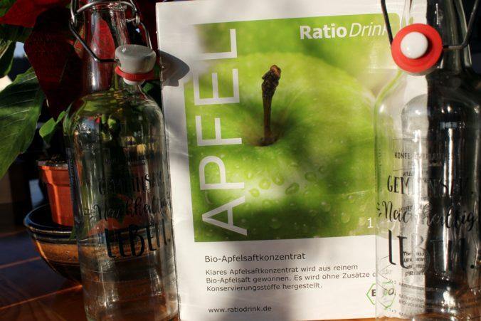 Geschäftsidee Saftkonzentrat, biologisch, Verpackungsarm und nach dem Prinzip der Teekampagne