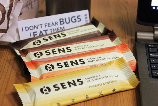 Snack und weg, Energieriegel mit Insekten drin - I don't fear bugs I eat them!