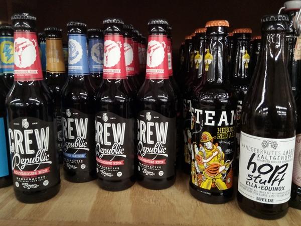 Craft Beer im Angebot bestellen und Lebensmittel vor der Tonne retten